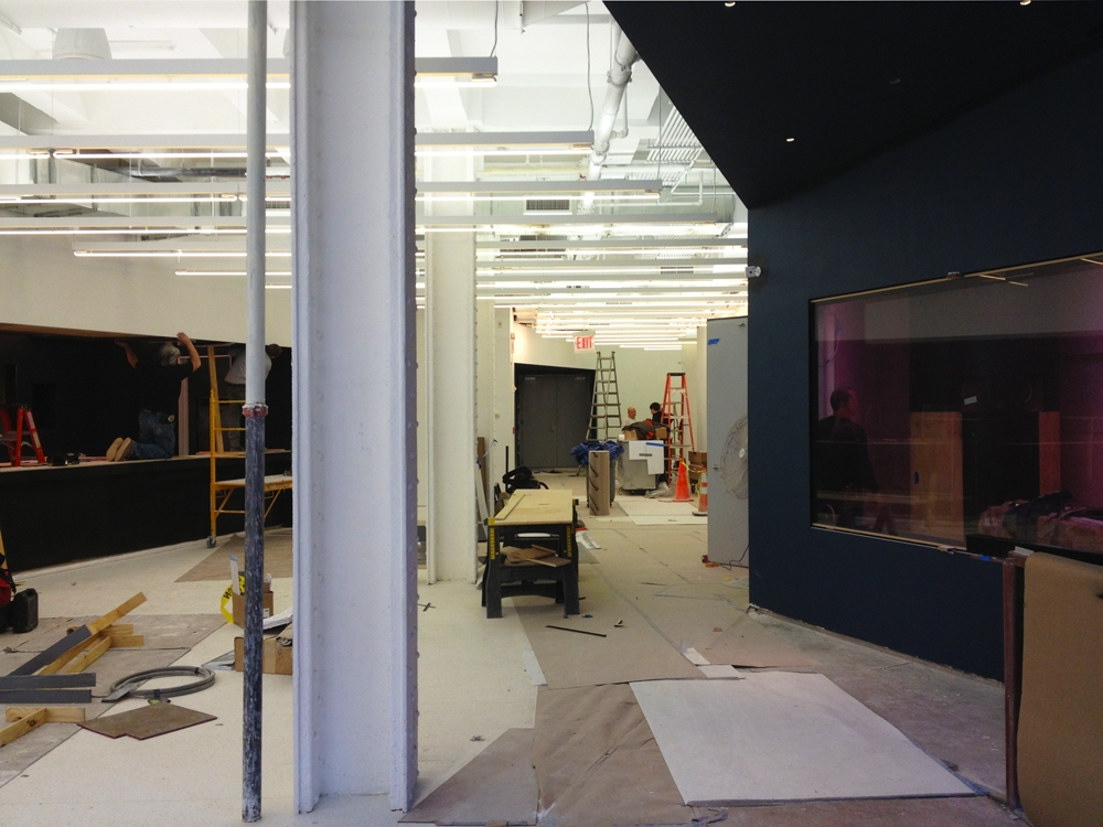 More Photos of Red Bull New York in Construction