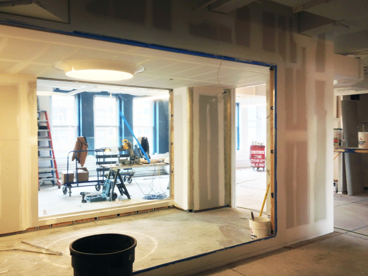 More Photos: Red Bull NY Offices in Construction!